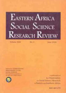 EASSRR Vol. 22, No. 1 , Jan. 2006