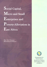 Social Capital, Micro and Small Enterprises and Poverty-Alleviation in East Africa