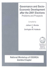 Governance and Socio-Economic Development after the 2001 Elections
