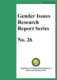 Gender Issues Research Report Series No. 26
